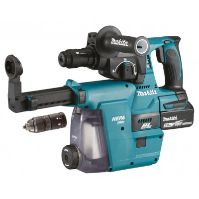 Makita Borhammer m/ HEPA-filter 18V SDS-PLUS DHR243RTJW verktøy.no