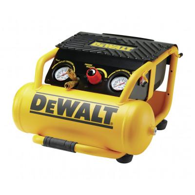DeWalt kompressor 10 liter med dobbelt uttak og bøyle for beskyttelse DPC10RC verktøy.no