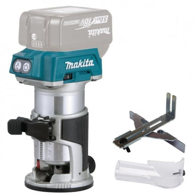 Makita overfres 18V DRT50Z verktøy.no