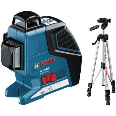 Bosch Linjelasere GLL3-80P & Stativ BS150
