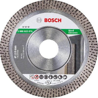 BOSCH Best for Hard Ceramic diamantkappeskiver