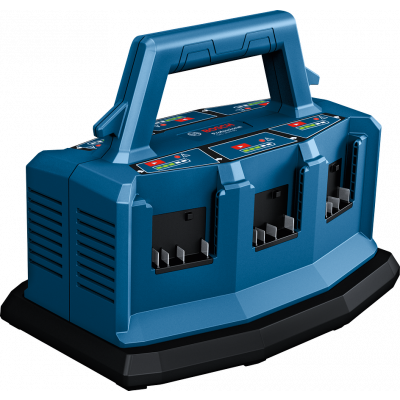 Bosch 18V multilader med 6 batterikontaktflater GAL 18V6-80 verktøy.no