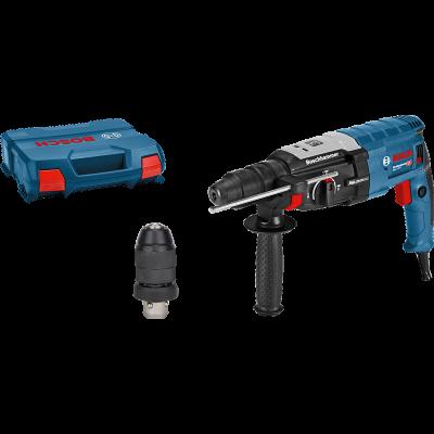 Bosch Borhammer GBH 2-28 SDS plus i transportkoffert med tilbehørssett