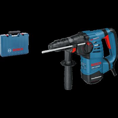 Bosch borhammer med SDS-plus GBH 3-28 DFR i transportkoffert med tilbehør verktøy.no
