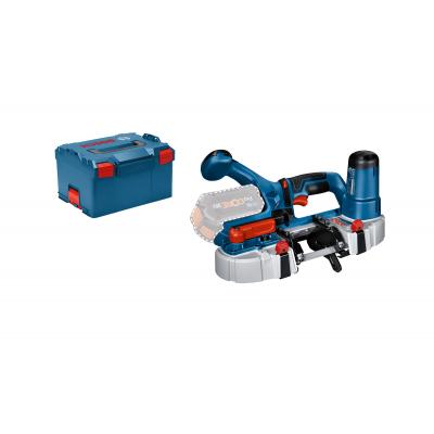 Bosch 18V båndsag GCB 18V-63 i L-BOXX med båndsagblad 18 TPI uten batteri & lader verktøy.no