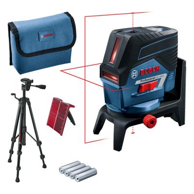 Bosch 12V Kombilaser GCL 2-50 C i Veske med 4 x AA Batterier (med adapter). Og Stativ BT 150 & Lasermåltavle  Verktøy.no