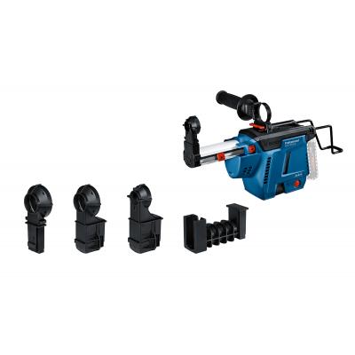 Bosch 18V svsugningssystem GDE 18V-26 D med 4 stk støvøye verktøy.no