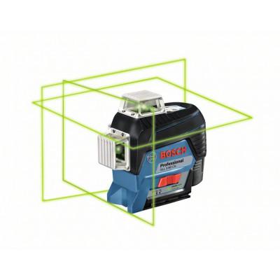 BOSCH Linjelaser GLL 3-80 CG Professional solo med L-BOXX & BM1 holder