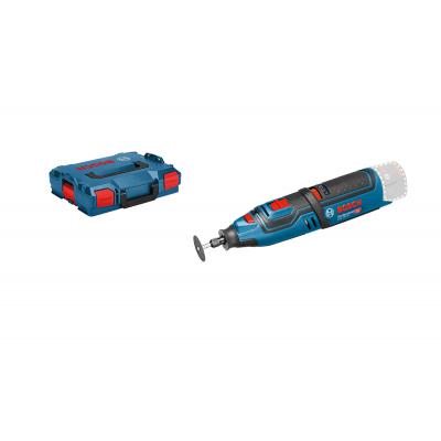 Bosch rotasjonsverktøy GRO 12V-35 Solo i L-BOXX med tilbehør boks verktøy.no