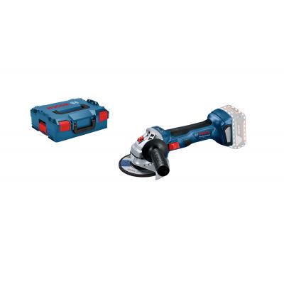 Bosch 18V Vinkesliper GWS 18V-7 i L-BOXX Uten batteri & lader Verktøy.no