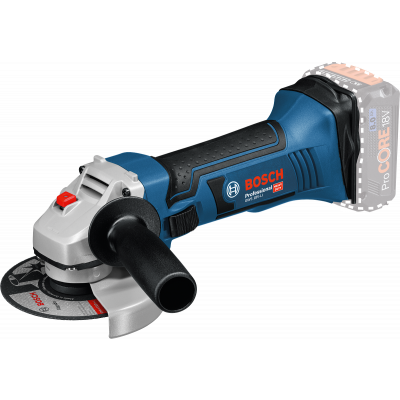 Bosch Vinkelsliper GWS 18-125 V-LI Solo verktøy.no