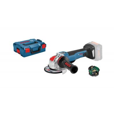 Bosch vinkelsliper med X-LOCK GWX 18V-10 PSC Professional Solo i L-BOXX med Bluetooth  verktøy.no
