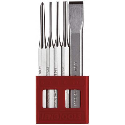 Teng Tools DOR OG MEISELSETT 5PC PCX05