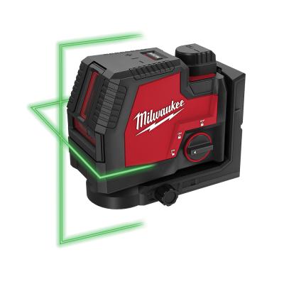 Milwaukee 4V Krysslinjelaser - Grønn REDLITIHIUM™ USB i koffert L4 CLL-301C