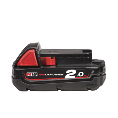 Milwaukee batteri M18 B2 2,0AH Li-ION verktøy.no