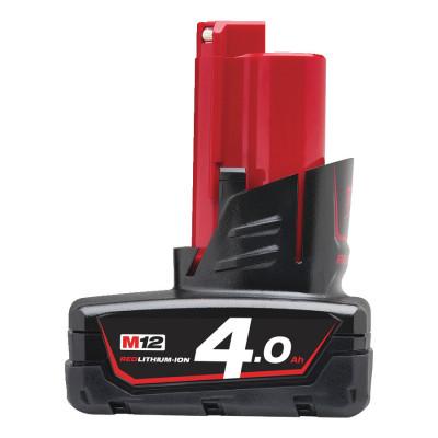 Milwaukee batteri M12 B4 verktøy.no