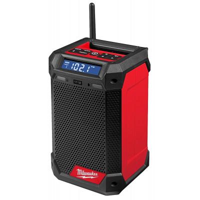 Milwaukee 12V / 230V DAB+ Radio RCDAB+ med ladefunksjon Verktøy.no