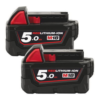 Milwaukee batterisett M18 B52 verktøy.no