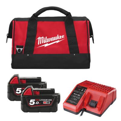 Milwaukee Startsett  M18™ POWERPACK M18 EK-502