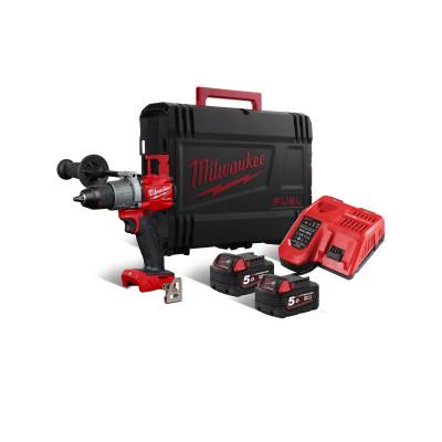 Milwaukee 18V FUEL™ bor-/skrutrekker M18 FDD2-502X verktøy.no