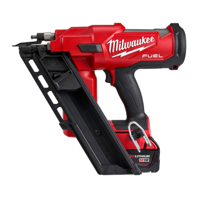 Milwaukee 18V FUEL™ Spikerpistol M18 FFN-502C i Koffert med 2 x 18V 5.0Ah batterier & lader