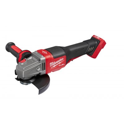 Milwaukee 18V FUEL™ FHSAG125XPDB High preformance vinkelsliper 125mm med tofingerbryter i HD Box Uten batteri & lader 