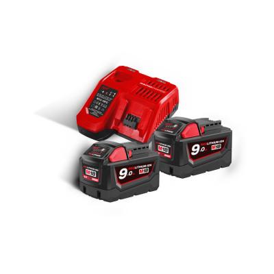 Milwaukee M18 NRG-902 Batterisett 18V 2X9.0Ah batteri