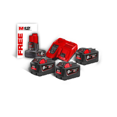 MILWAUKEE BATTERISETT M18 NRG-903