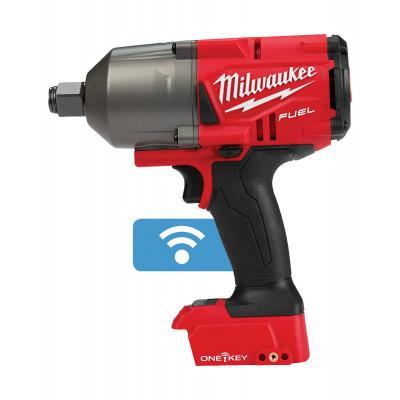 Milwaukee 18V Muttertrekker ¾″ ONEFHIWF34 med friksjonsring i HD Box Uten batteri & lader Verktøy.no