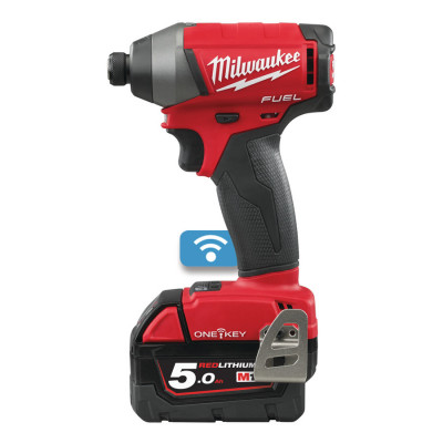 Milwaukee M18 ONEID-502X ONE-KEY™ FUEL™ 1/4˝ HEX SLAGSKRUTREKKER