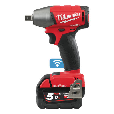 "Milwaukee 18V muttertrekker ½"" M18ONEIWP12-502X verktøy.no"