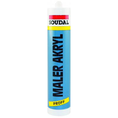Saudal Maler akryl Hvit 310ml