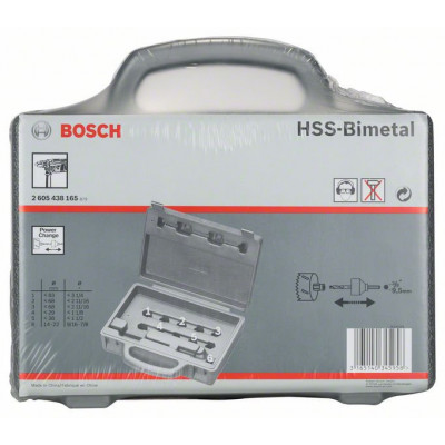 Bosch Tom hullsag-settkoffert for individuell 6-er-utstyr verltæy-no