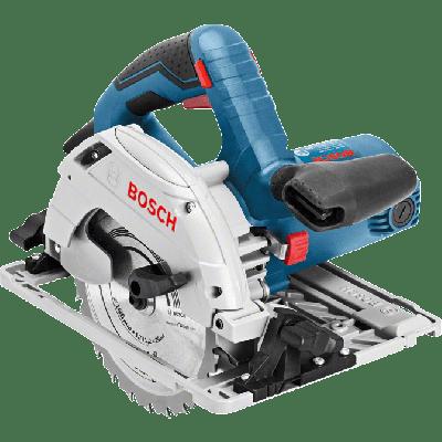 Bosch GKS 55+ GCE Professional i pappeske med parallellanlegg