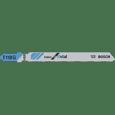 BOSCH T 118 G Basic for Metal stikksagblader