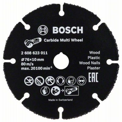 BOSCH Carbide Multi Wheel skjæreskiver
