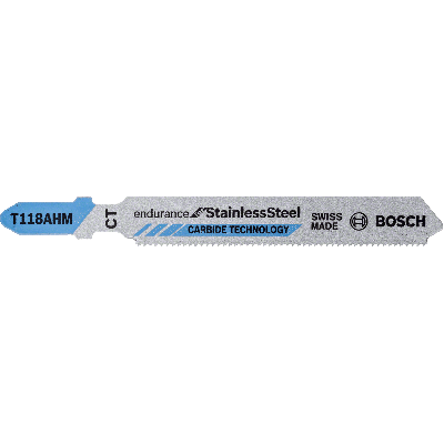 bosch T 118 AHM Endurance for Stainless Steel stikksagblader 3 pk verktøy.no