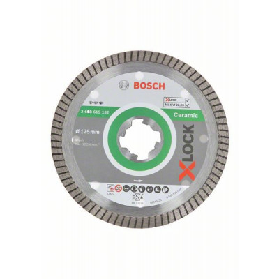 BOSCH X-LOCK Best for Ceramic Extra Clean Turbo-diamantkappeskiver