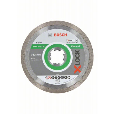 BOSCH X-LOCK Standard for Ceramic-diamantkappeskiver