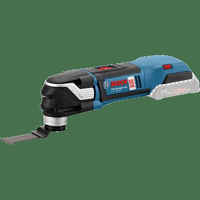 Bosch Batteridrevet Multi-Cutter GOP 18V-28 ink BIM dykksagblad PAIZ 32 APB Wood and Metal