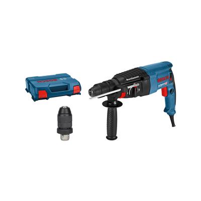 Bosch Borhammer med SDS plus GBH 2-26 F i oppbevaringskoffert med tilbehør