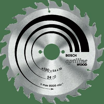 BOSCH Optiline Wood sirkelsagblader