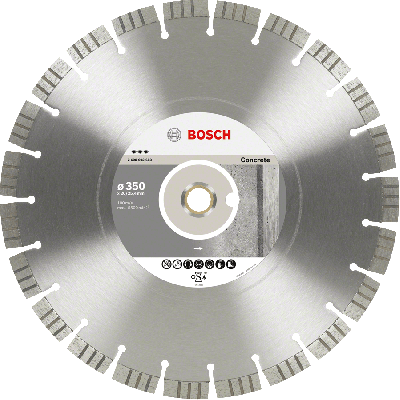 BOSCH Diamantkappeskive Best for Concrete (2 valg typer)