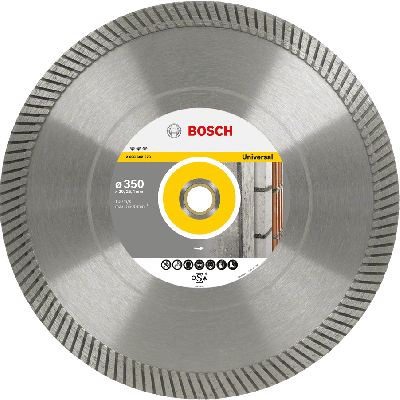 BOSCH Diamantkappeskive Best for Universal Turbo (2 valg typer)