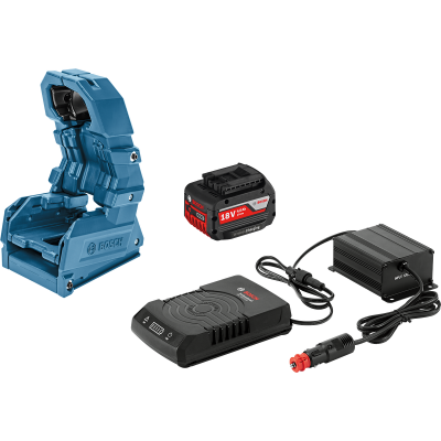 Bosch Bilsett GBA 18V 4.0Ah W + GAL 1830 W-DC + Holster Wireless Charging