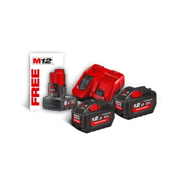 Milwaukee M18 High Output batterisett NRG122