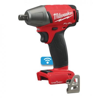 Milwaukee 18V muttertrekker ½″ med låsestift ONEIWP12-0 verktøy.no