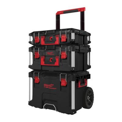 MILWAUKEE PACKOUT™ sett med kofferter (3 deler)