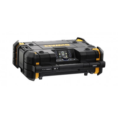 DeWalt RADIO/LADER TSTAK® DAB+ verktøy.no