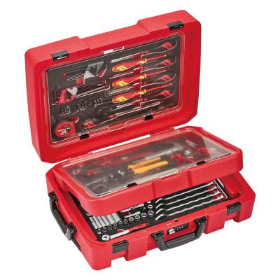 Teng Tools SCE1 serviceveske 119 deler EVA TOOL SET verktøy.no